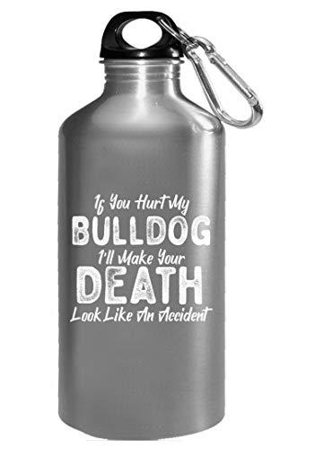 Bulldog Lover Dog Love Accidental Death - Water Bottle ()