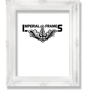 MyFrameStore No.635 Solid Wood Picture Photo/Diploma/Poster Frame, 11 by 14-Inch, White