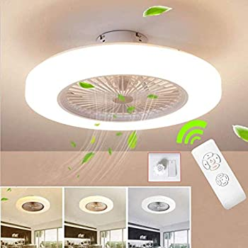 Amazon Com Slz Ceiling Fan With Lighting Led Fan Ceiling