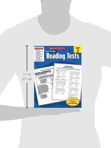 Amazon.com: Scholastic Success With Reading Tests, Grade 3 ...