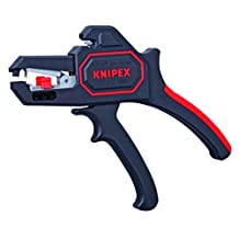Knipex 1262180 Self Adjusting Insulation Strippers, Awg 10-24, 7.25-Inch