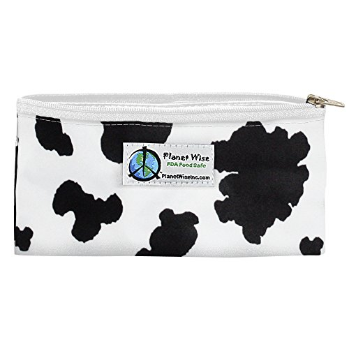 Little Cow Moo (Planet Wise Reusable Zipper Sandwich and Snack Bags, Snack, Moo-Licious Poly)