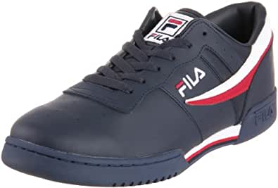 Fila Men's Original Vintage Fitness Shoe,Navy/White/Red,9 M