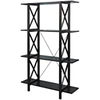 Linon Home Decor Anna Double Bookcase