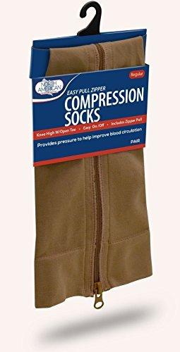 Zipper Compression Socks - Pants Closeout Jean