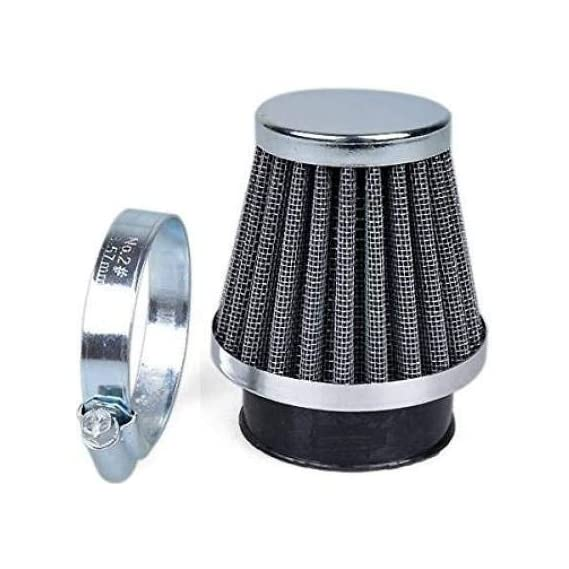 AirSky Universal Motorcycle Air Filter Clamp On Air Filter for Bike