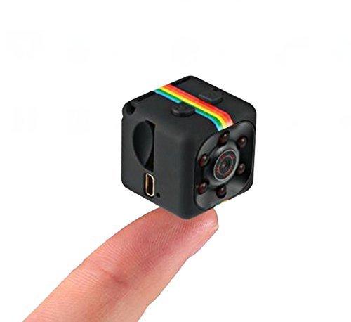 Mini Camera SQ11 HD Camcorder 3.6mm Night Vision FOV140 1080P Sports Mini DV Video Recorder