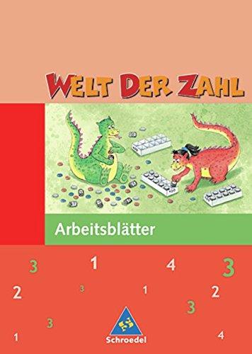 Welt der Zahl - Ausgabe 2004 Hessen, Rheinland-Pfalz und Saarland: Arbeitsheft 3