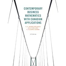 Contemporary Business Mathematics with Canadian Applications (10th Edition)