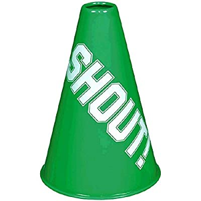 Amscan Megaphone, Party Accessory, Green: Sports & Outdoors