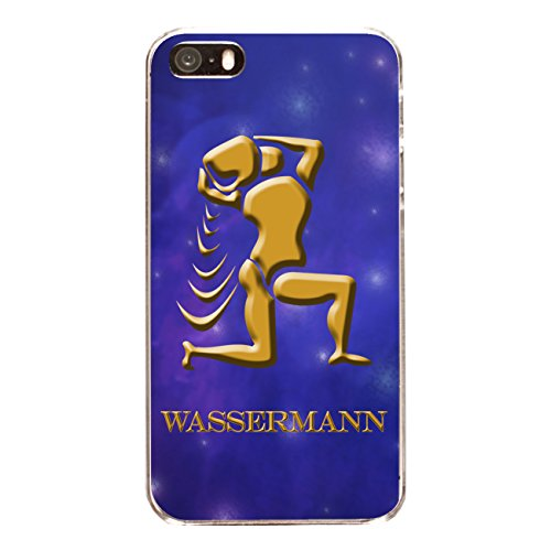 "Disagu Design Case Coque pour Apple iPhone 5s Housse etui coque pochette ""Wassermann"""