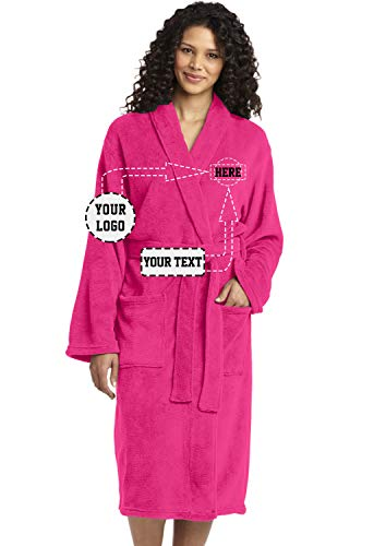 (Personalized Embroidered Robes – Custom SPA Robe – Monogrammed Bathrobes)