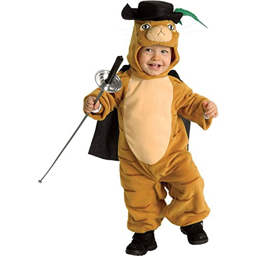 [Baby Puss In Boots Halloween Costume (Size: 0-6M)] (Third Leg Costume)