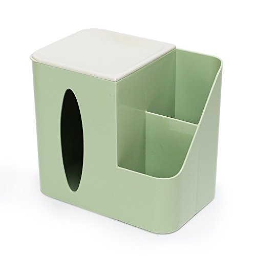 Tray Pull (MDRW-Household Multifunction Paper Towel Cartridge Pull The Tray Out Of The Napkin Living Room Plastic Face Towels Tray Desktop Green Paper Rolls Tissue storage Box)