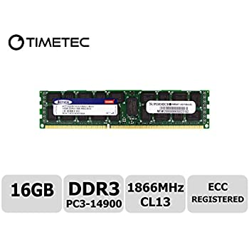 Hynix 32GB 4X8GB PC3-14900E DDR3-1866 240 PIN CL13 ECC Unbuffered UDIMM Memory