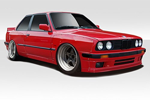 1984-1991 BMW 3 Series E30 Duraflex TKO Wide Body Kit - 6 Piece - Series Body Kit