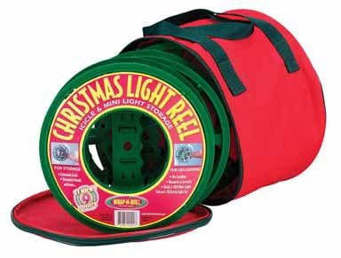 Christmas Light Storage Bag Red