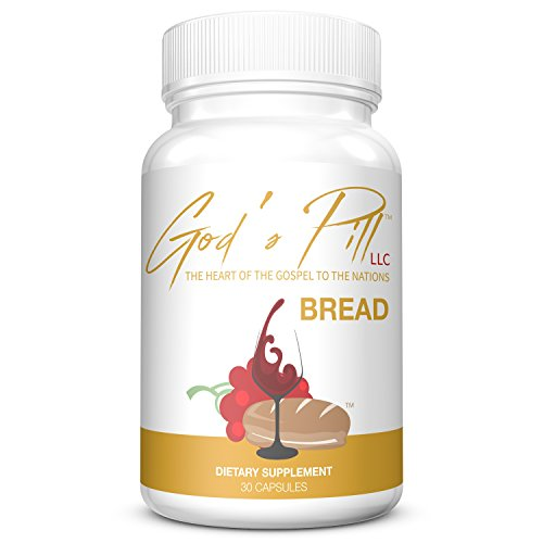 Portable Communion Bread Capsules - Matzo Meal Pill - Communion Elements - Bread and Wine