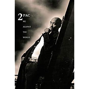 Pyramid America 2 Pac Me Against The World Hip Hop Rap Rapper Music Cool Wall Decor Art Print Poster 24x36