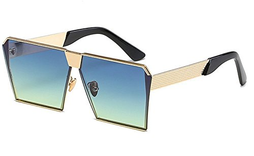 Sol De JUNHONGZHANG Gafas Decorativos Sol Resina Caja Ladies Fashion I De Gafas Metal K Gafas De Gafas ItwIrR
