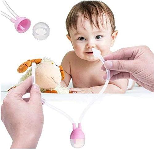 Aspirador Nasal para Mocos del Bebé - Rosa: Amazon.es: Bebé