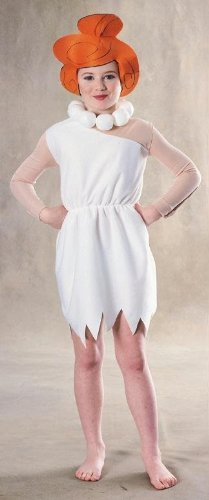 Wilma Flinstone Costumes (Wilma Flinstone costume for girl - 5 to 7 years/ Small-Medium by MCS)