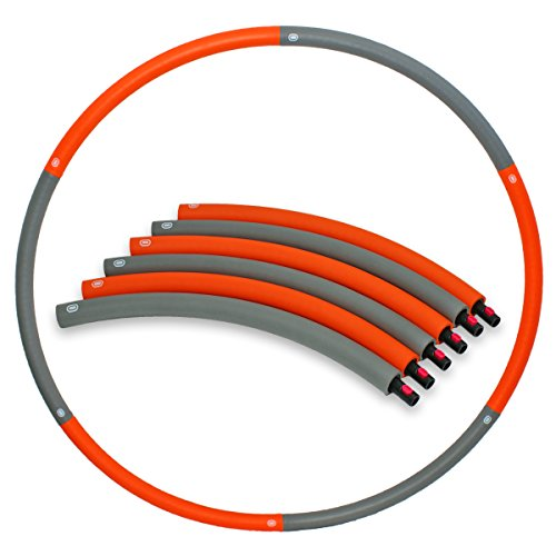 3.3 Pound Weighted Hula Hoop - Collapsible Foam 39\