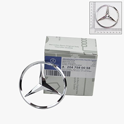 Trunk Star Emblem - Mercedes-Benz Trunk Lid Star Emblem Badge Genuine Original 2040058