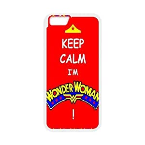 Case Cover For LG G3 Wonder Woman Quotes Keep Calm I'm Wonder Woman Case Cover For LG G3 White