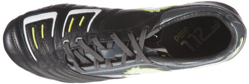 Puma - Botas de fútbol para hombre Schwarz (black-dark shadow-white-lime punch 02) (Schwarz (black-dark shadow-white-lime punch 02))