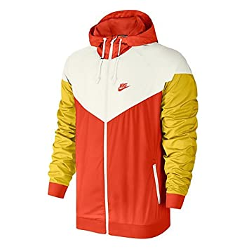 promo code ddc61 121b8 Nike Herren M NSW Windrunner JKT Winterjacke SailTeam Orange, 2XL