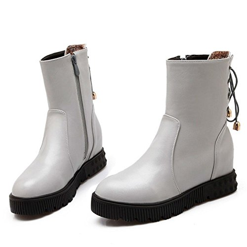 COOLCEPT Botines Clasicos para Mujer Gray