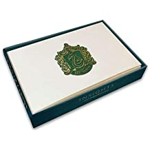 Harry Potter: Slytherin Foil Note Cards (Set of 10)