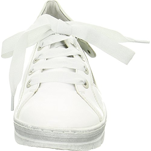 Remonte Donna Scarpe stringate bianco, (bianco/silver) D5803-80