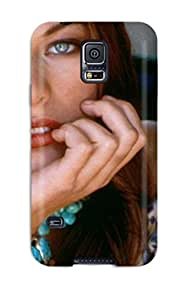 HpBIsWR2237JTIxY Anti-scratch Case Cover JessicaBMcrae Protective Milla Jovovich Aged Young Photos Case For Galaxy S5