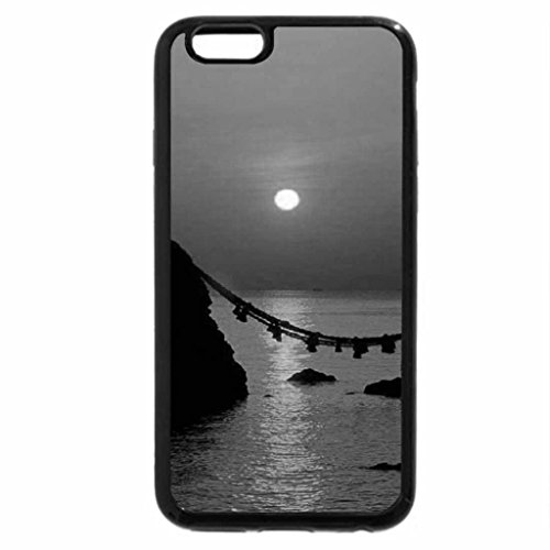 iPhone 6S Plus Case, iPhone 6 Plus Case (Black & White) - Okinawa