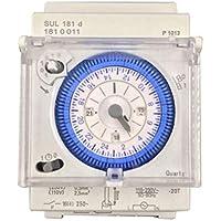 KSTE TM615H-2 LCD Temporizador de control de tiempo programable semanal digital Interruptor 220 VAC