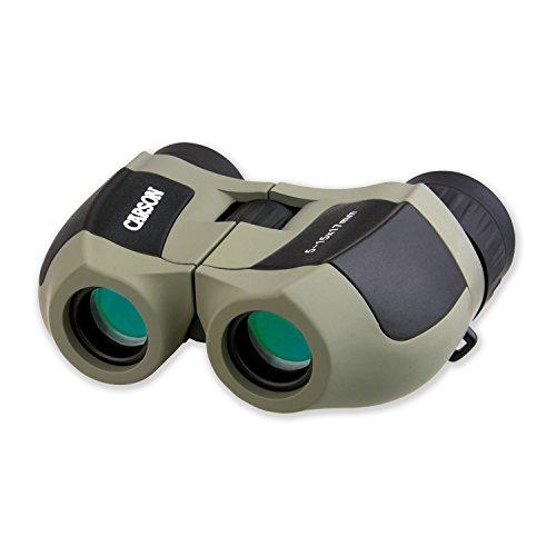 Carson MiniZoom 5-15x17mm Compact Zoom Binoculars for Bird W