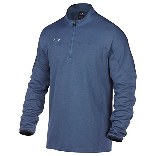 Oakley Men's Gridlock Pullover, Blue Shade, - Golf Shades Oakley