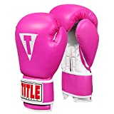 Title Classic Pro Style Training Gloves 3.0, Hot Pink/White, 12 oz