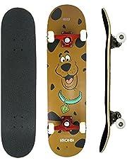 Skate Kronik Montado Abec 5 Street 7 Lâminas Scooby Doo
