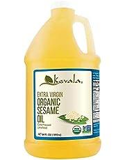 Kevala Sesame Oil, Organic 1/2 Gallon (1,892ml)