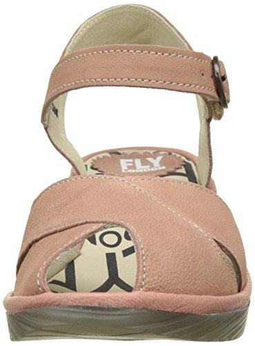 Para Rosa rose 013 Flya4 London Mujer Heels fly Sandals Pero706fly rose SwXFq0a