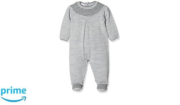 PAZ Rodriguez 005-60349, Pelele Bebé Unisex, Gris (Vapore/Peltre) Recién Nacido (Tamaño del Fabricante:6M): Amazon.es: Ropa y accesorios