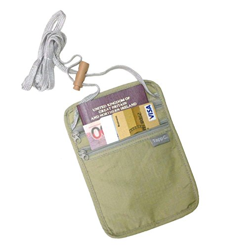 Collection Travel Wallet (Tapp Collections Travel Neck Pouch - Sand)