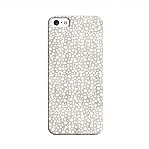 Cover It Up - Silver Pebbles Mosaic iPhone 5/5s Hard Case