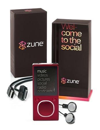 Zune 4 GB Video MP3 Player (Black)