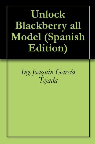 Amazon com: Unlock Blackberry all Model (Spanish Edition