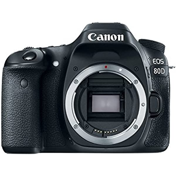 Canon 1263C036 EOS 80D Body Only Digital SLR Camera: Amazon.es ...