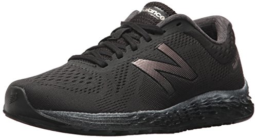 New Balance Women's Arishi v1 Fresh Foam Running Shoe, Black, 6 D US